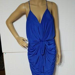 Beautiful blue sleeveless dress